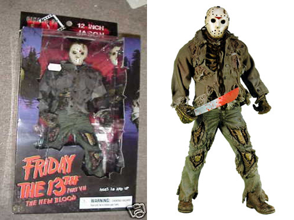 "12"" Cinema of Fear Deluxe Jason Voorhees Figure"