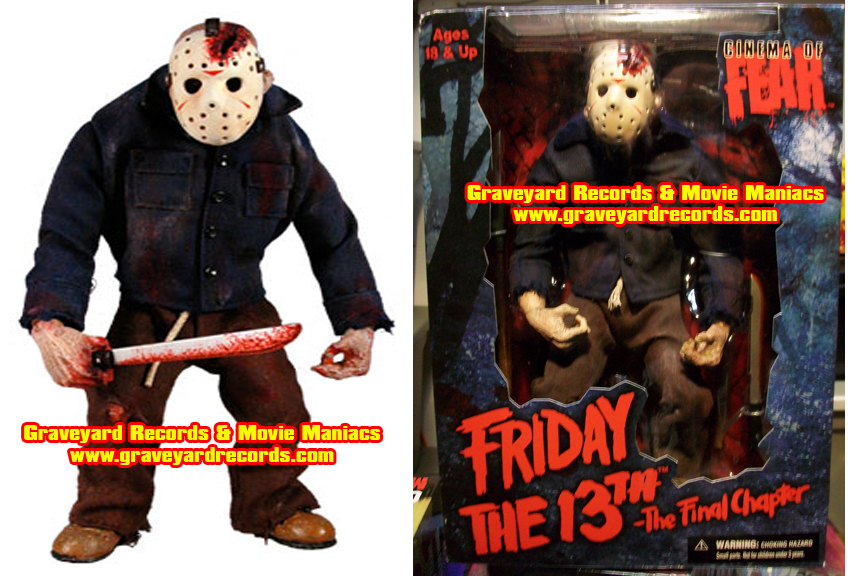 "10"" Jason Voorhees Stylized Roto Figure ""The Final Chapter"""