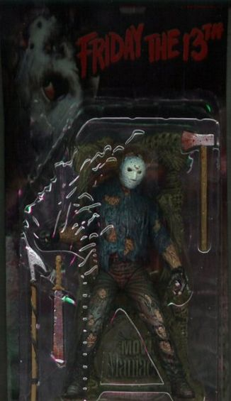 "8"" MM1: Jason Voorhees (Extreme Bloody Package,Chrome blade)"