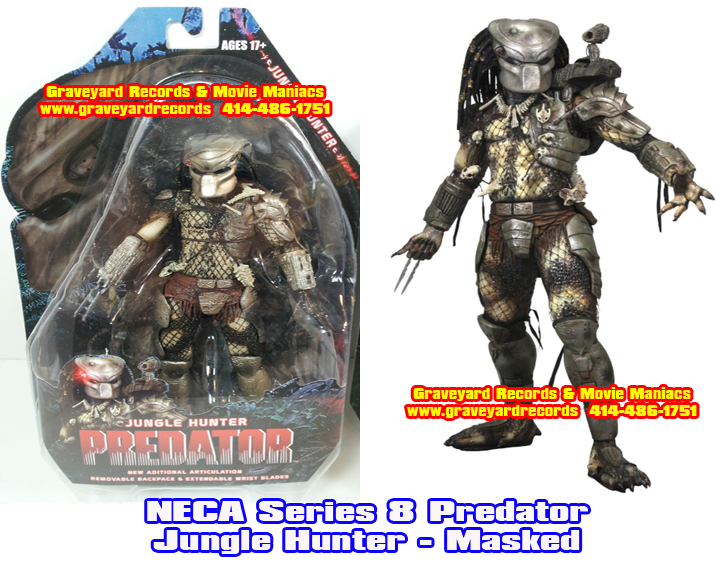 "8"" Neca Toys Predator Series 8 - Jungle Hunter Predator"