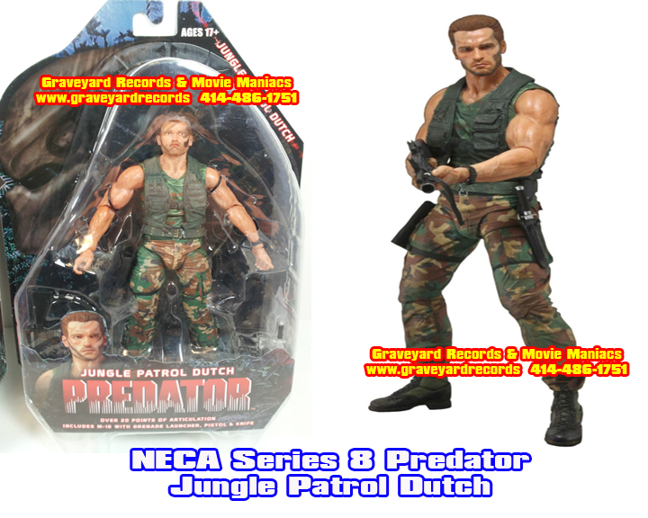 "8"" Neca Toys Predator Series 8 - Jungle Patrol Dutch"