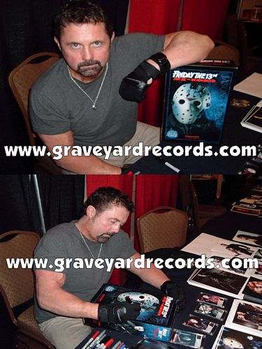 "12"" Autographed -- Friday the 13th pt 7 - Kane Hodder"