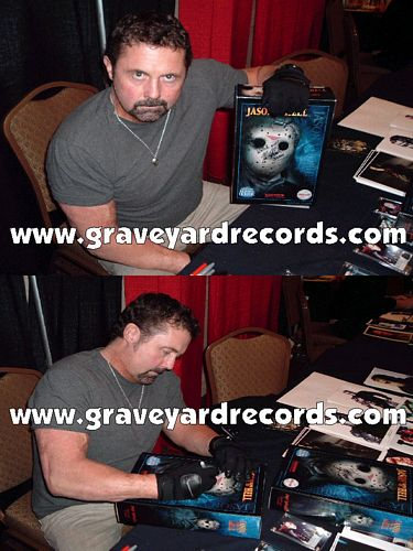"12"" Autographed -- Friday the 13th pt 9 - Kane Hodder"