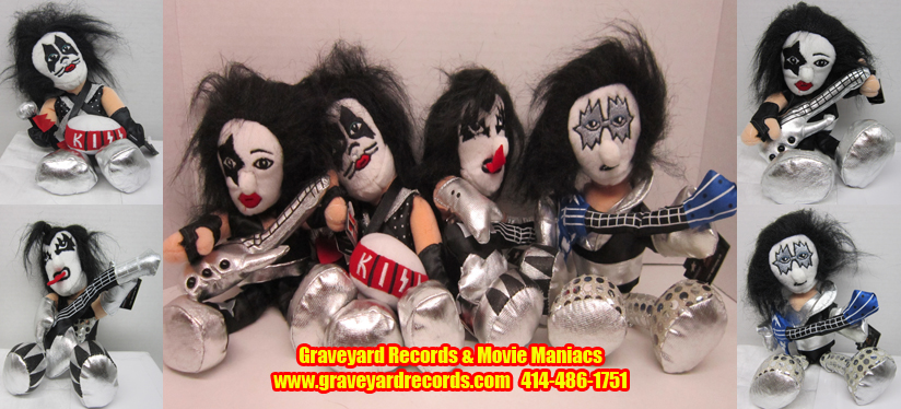 Kiss Beanie Baby/ Bears Figures Set