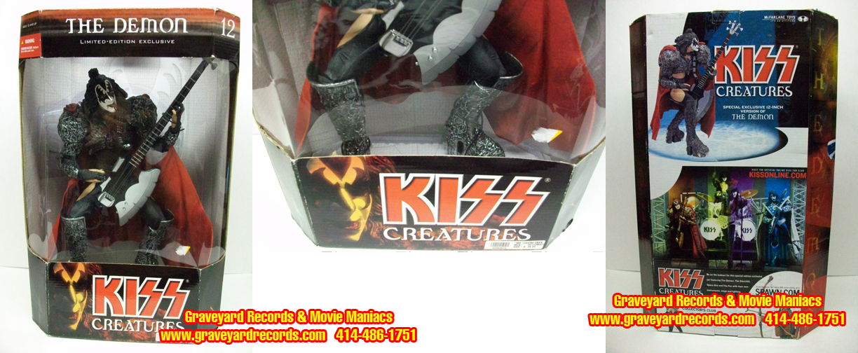 "12"" Kiss Creatures Of The Night Demon - Rough Packaging"
