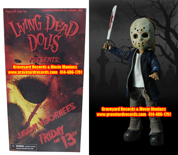 "10"" Living Dead Dolls Presents Friday The 13th 2009 (Remake)"