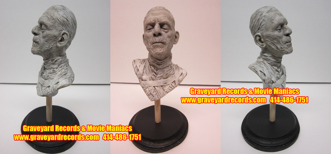 Karloff The Mummy - Mini Bust