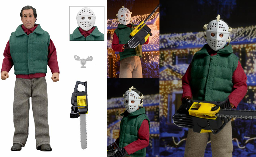 "8"" Christmas Vacation - Clark With Chainsaw Retro Figure"