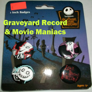 Nightmare Before Christmas Pin Set Two