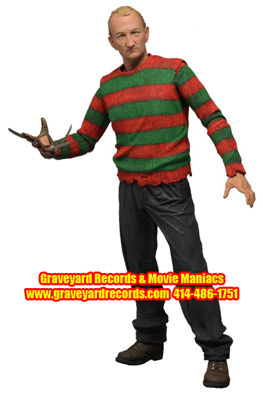 "8"" Series 4 Freddy Nightmare On Elm Street - ""Human Freddy"""