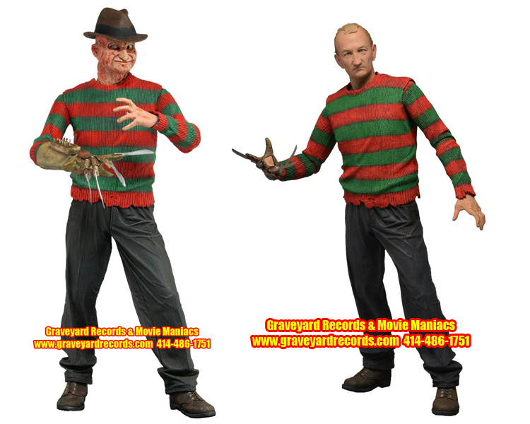 "8"" Series 4 Freddy Nightmare On Elm Street Set"