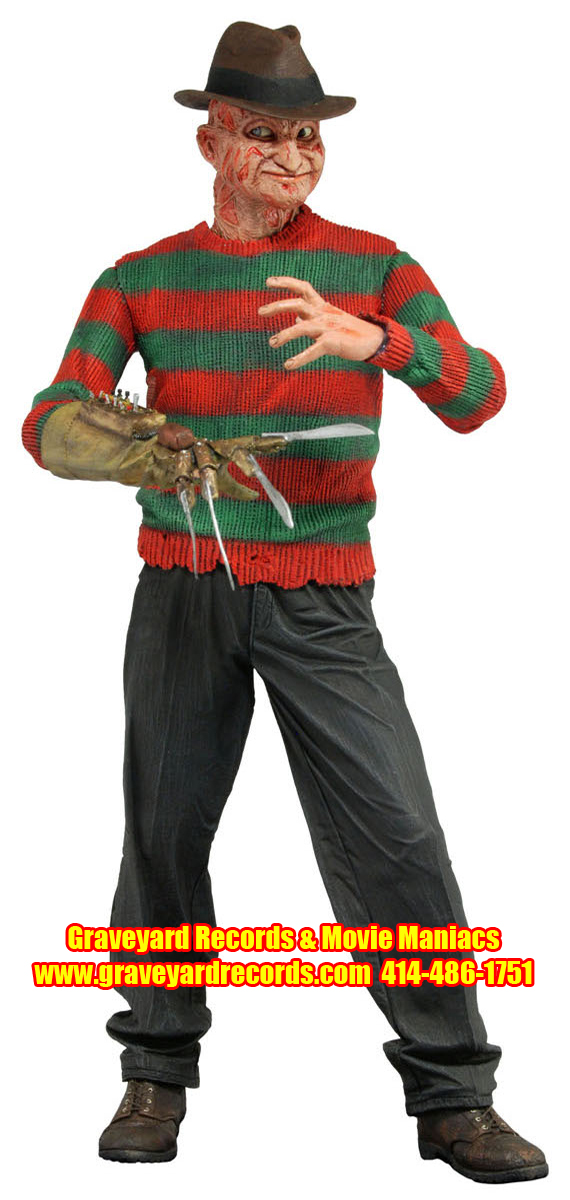 "8"" Series 4 Freddy Nightmare On Elm Street -""Power Glove Freddy"""