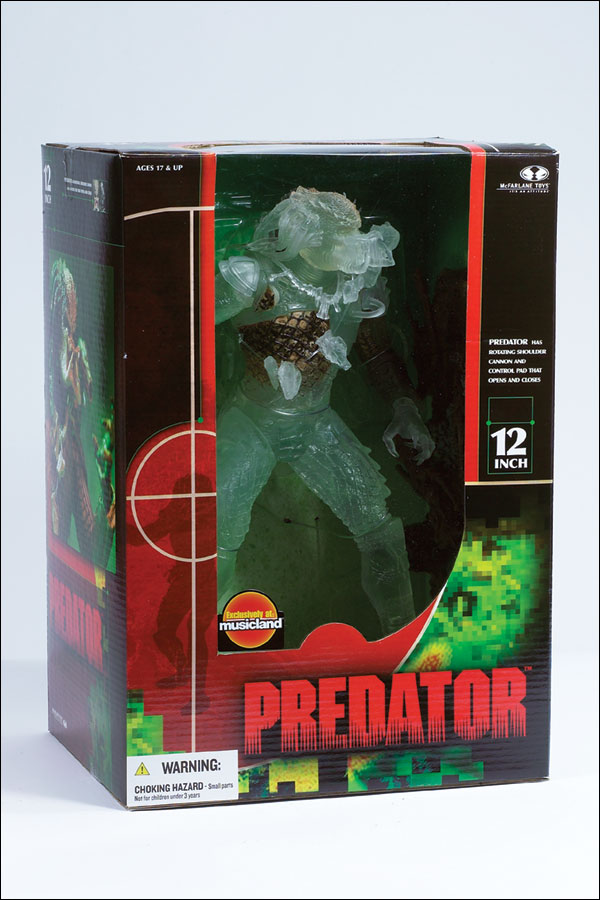 "12"" McFarlane Toys STEALTH PREDATOR **OPENED**"