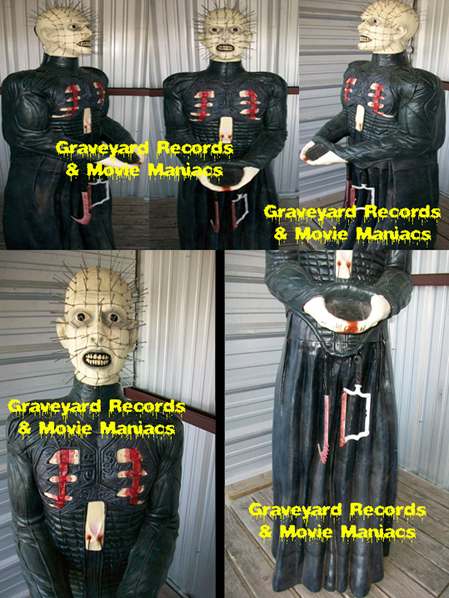 6' Foam Pinhead Display W/Box