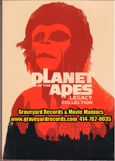 Planet of the Apes Legacy Collection 6 Disk Set