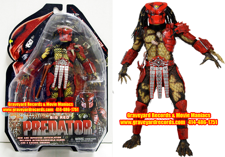 "8"" Neca Toys Predator Series 7 Predator 2 - Big Red"
