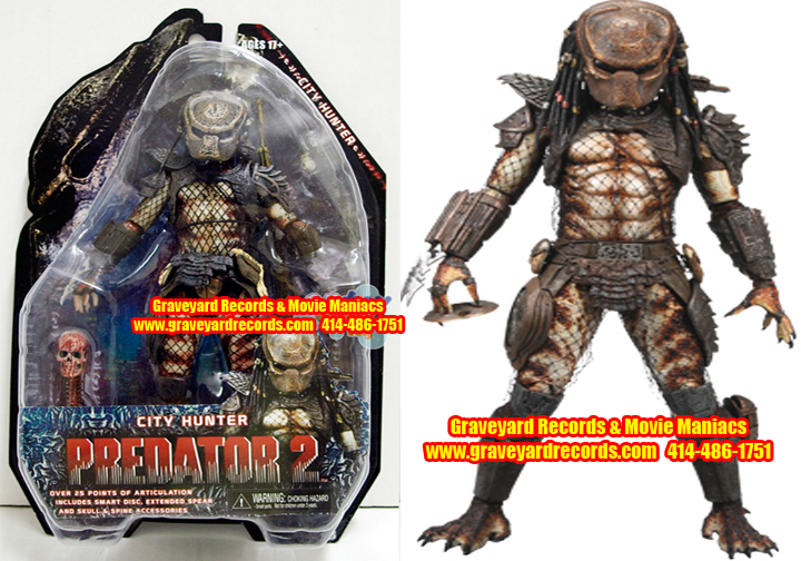 "8"" Neca Toys Predator Series 7 Predator 2 - Masked City Hunter"