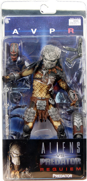 "8"" Neca Toys AVP: Requiem Series 2 Masked Predator Action Figure"