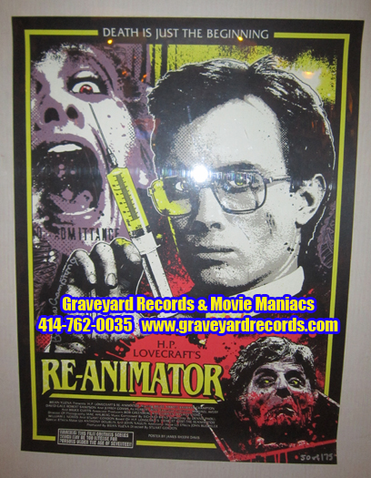 Re-Animator Signed Print Limited To 175