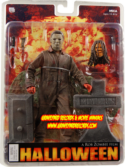 "7"" Michael Myers - Rob Zombie's Halloween Figure"