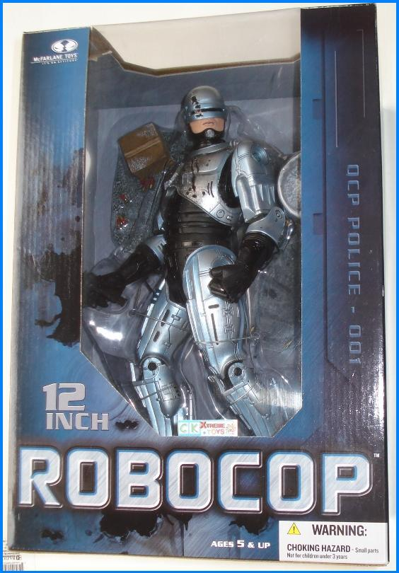 "12"" Battle Damaged ROBOCOP Figure Movie"