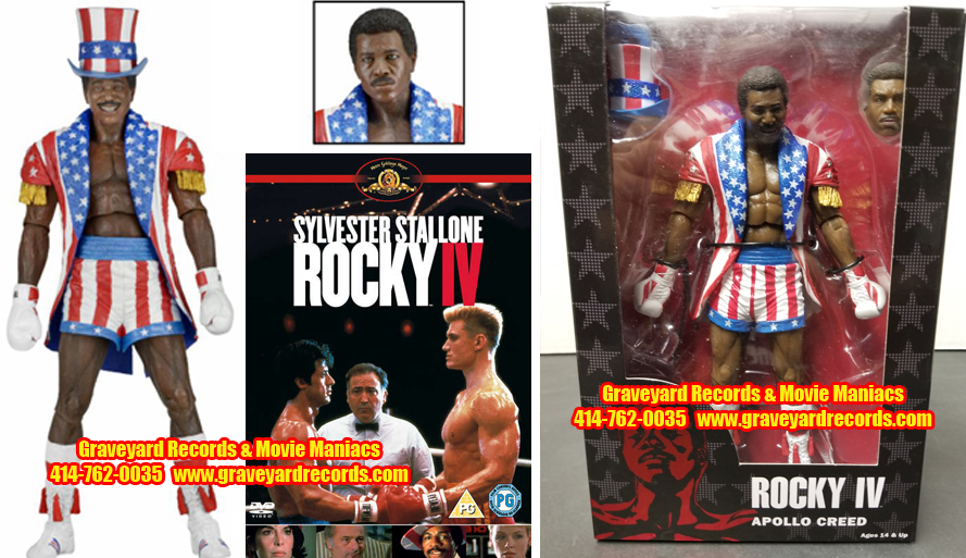 "8"" 40th Anniversary Rocky IV Apollo Creed"