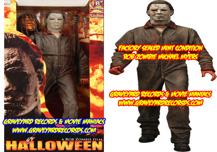 "18"" Michael Myers - Rob Zombie's Halloween Figure"