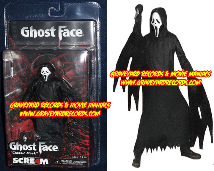"8"" Scream 4 Regular ""Ghostface Killer"""