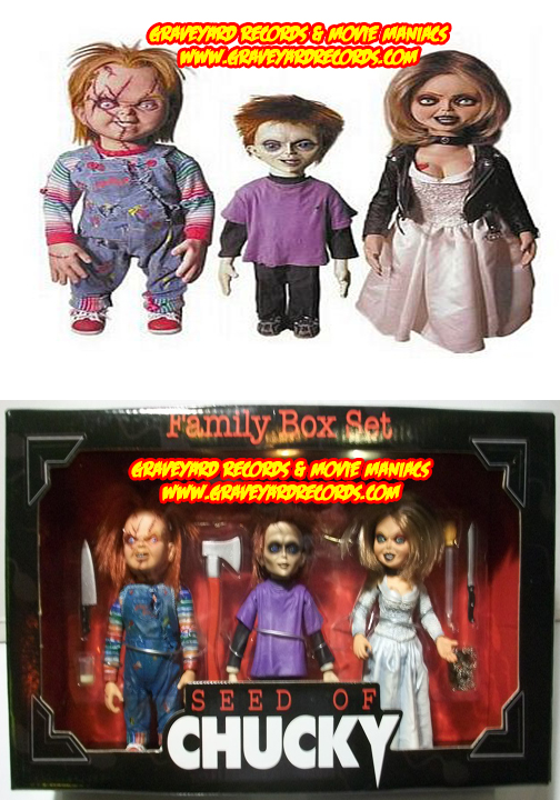 "8"" Seed of Chucky Box Set"