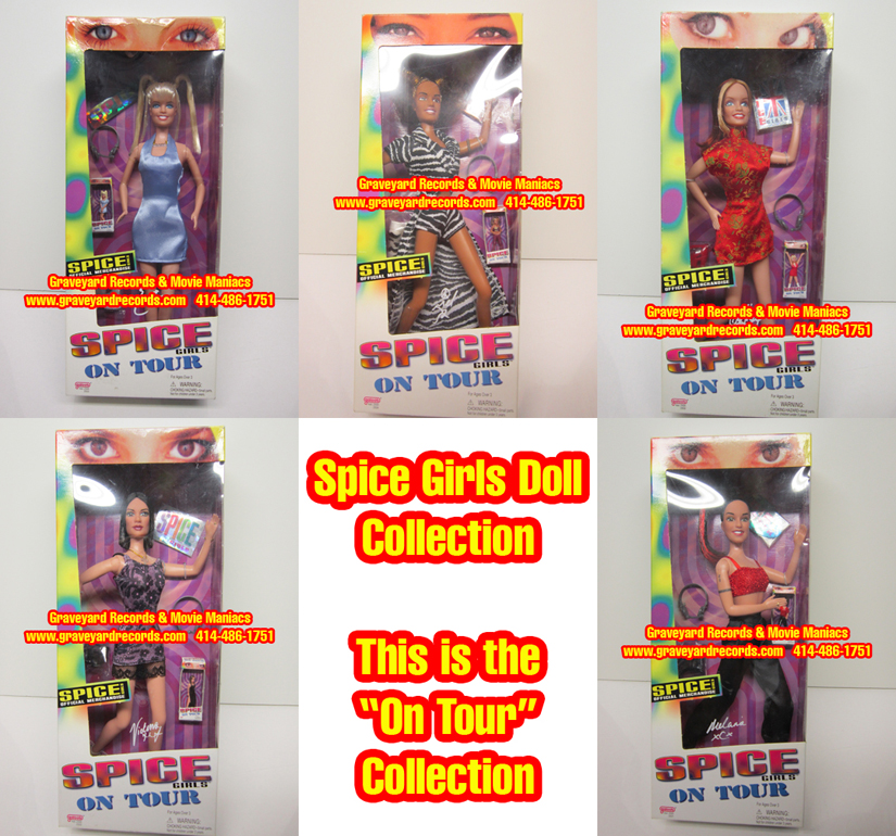 "Spice Girls ""On Tour"" Doll Set"
