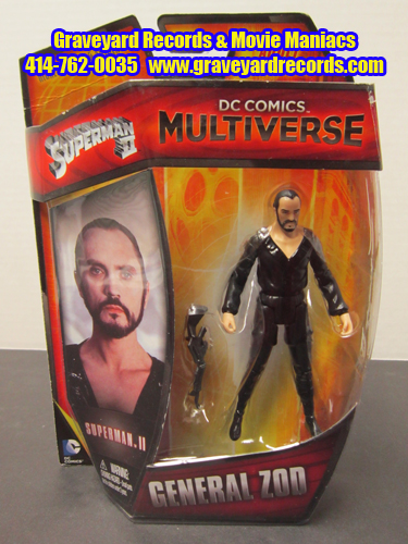 "4"" Superman II - General Zod - DC Comics Multiverse"