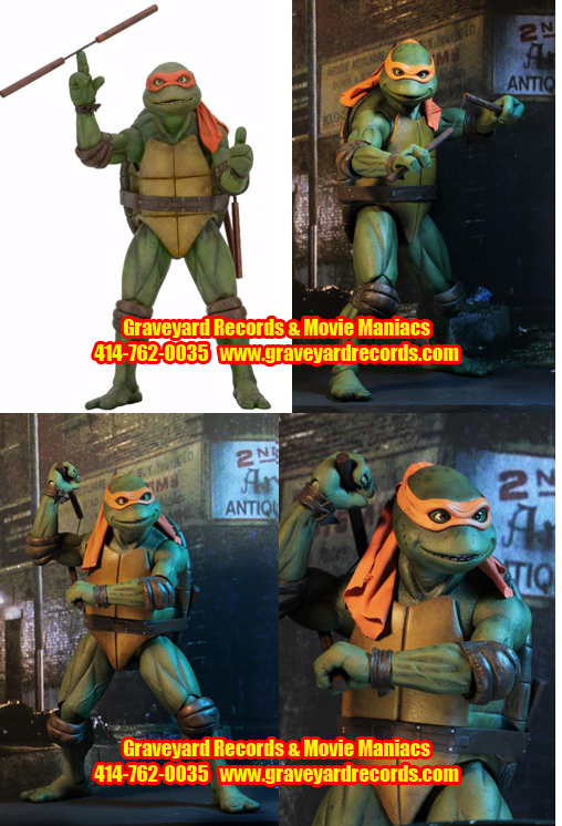 "18"" Teenage Mutant Ninja Turtles - Michelangelo Figure"
