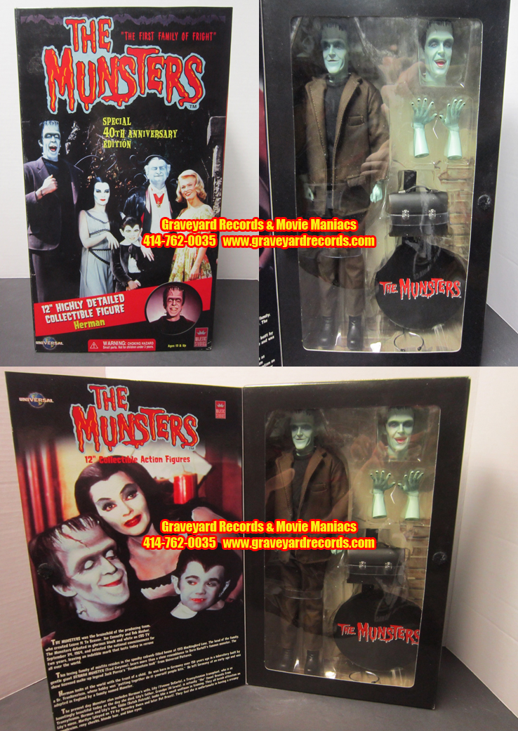 "12"" The Munsters - Herman Munsters - Standard Edition"