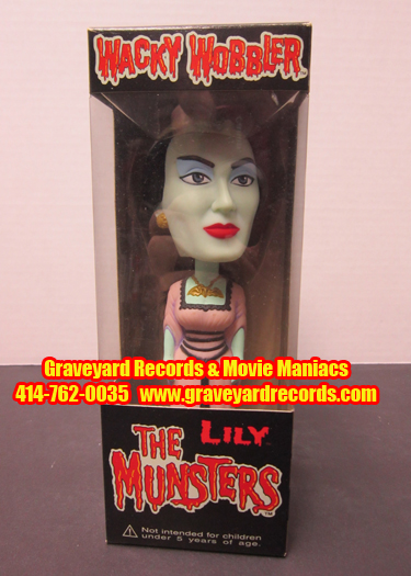 The Munsters Lily Munster - Wacky Wobbler