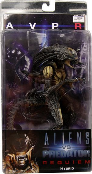 "8"" Neca Toys AvP: Requiem Series 1 Hybrid Action Figure Closed M"