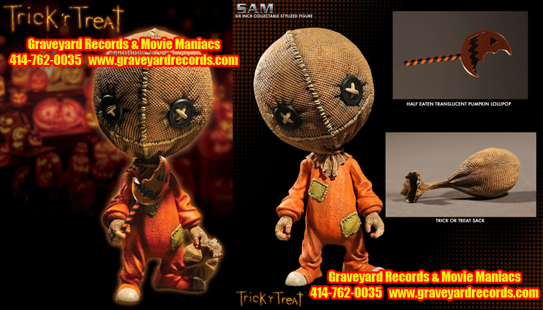 "6"" Trick 'R Treat  - Stylized Sam"