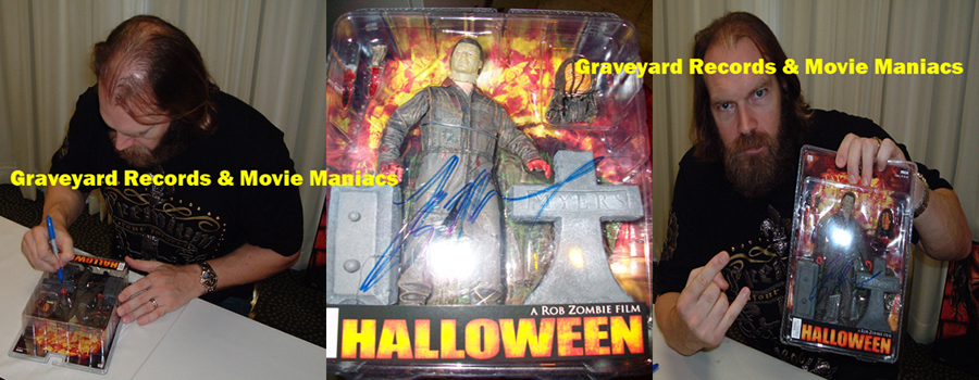 "8"" Halloween 2007 Michael - Signed By Tyler Mane"
