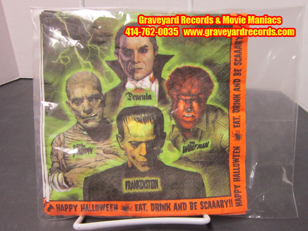 Universal Monsters - Paper Napkins