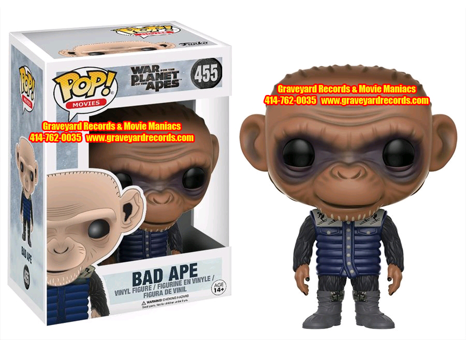 War Of The Planet Of The Apes Bad Ape #455