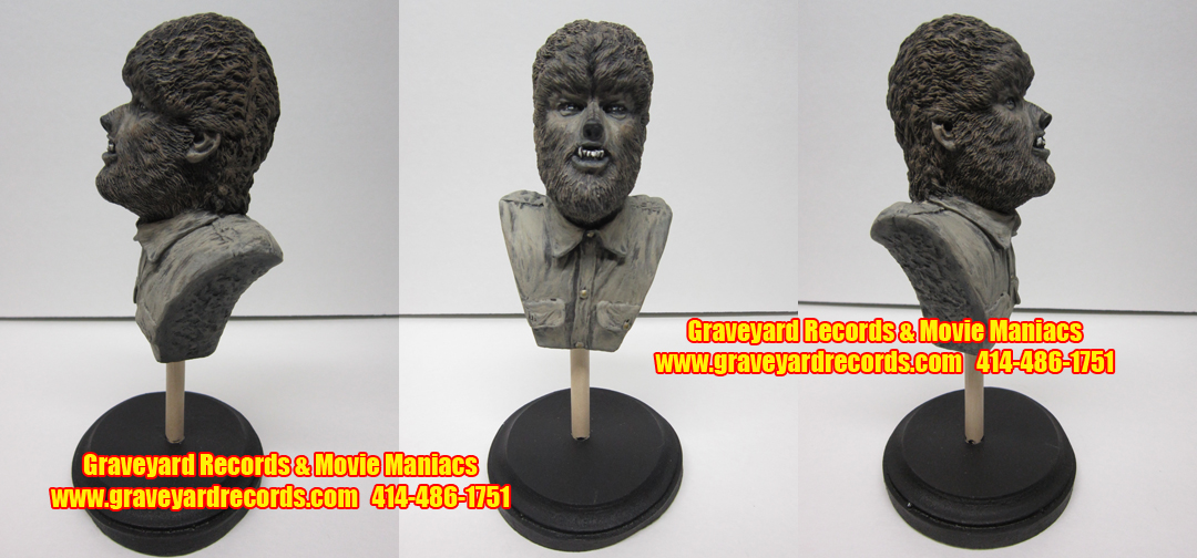 Lon Chaney Jr- Wolfman Mini Bust
