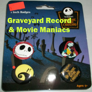 Nightmare Before Christmas Pin Set One