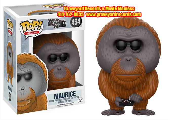 War Of The Planet Of The Apes Maurice #454